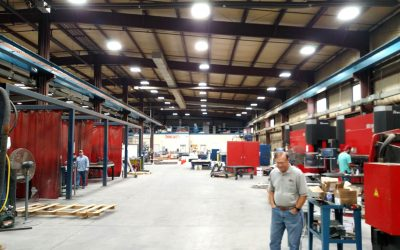 FabMetals LED Lighting Retrofit