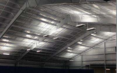 Schroeder Tennis Center Lighting