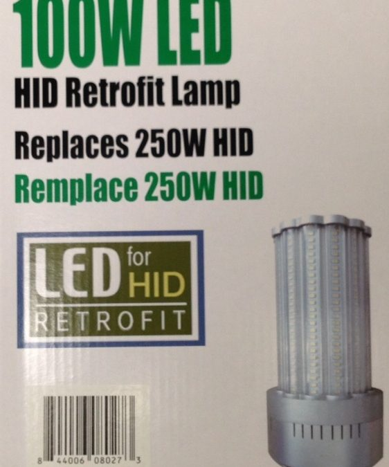 LED Replacement For HID Lamp