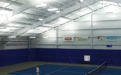 Lighting at Schroeder Tennis Center