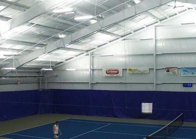 Lighting at Schroeder Tennis Center