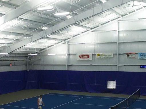 Lighting at Schroeder Tennis