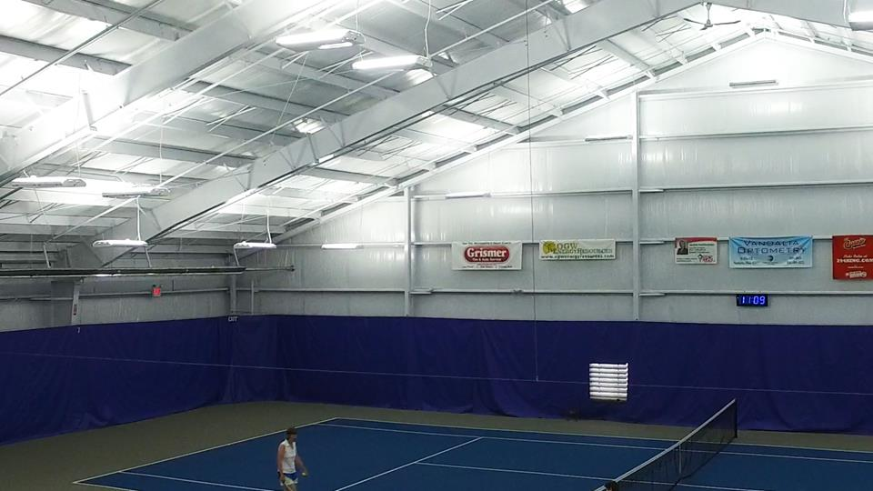 Lighting at Schroeder Tennis
