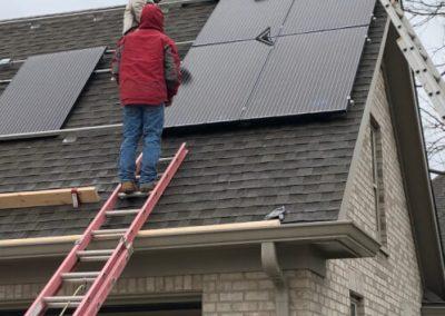 Residential Solar Array in Covington