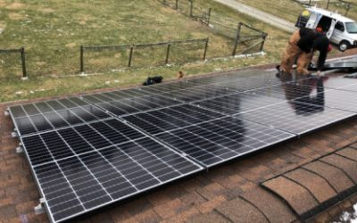 Solar Panels Installed Near Jeffersonville, Ohio