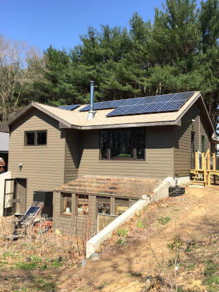 The Wallace Family has just gone solar!