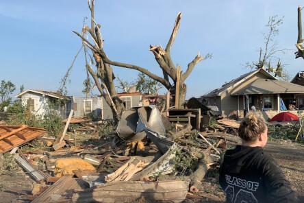 Dayton Tornado Damage